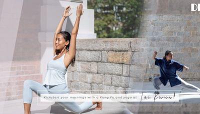 全新「早晨大館」帶來瑜伽冥想、伸展、功夫訓練!在晨光下喚醒身心,開啟新的一天 健康好人生 health