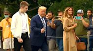 Melania Says Barron Trump Showed No Symptoms After Getting COVID-19