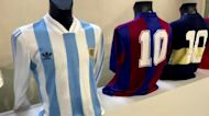 Diego Maradona memorabilia goes up for auction