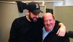 A Dunder Mifflin Reunion! The Office's John Krasinski, Brian Baumgartner Reunite in Smiley Photo
