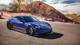 就算是電動車也得改起來!Vivid Racing 推出 Porsche Taycan 碳纖維車體套件組