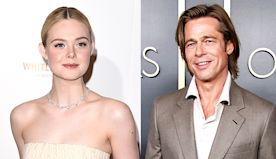 Elle Fanning Looks Exactly Like Brad Pitt In His 'Beard Bead Phase' In New Selfie — See Pic