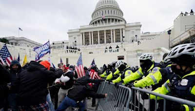 Trump complains about 'lies, exaggeration, and fraud' in coverage of Capitol riot – as top Democrat issues ultimatum