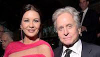 Catherine Zeta-Jones & Michael Douglas Share Romantic Joint Birthday Tributes: 'I Just Lucked Out'