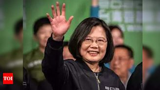 Taiwan president says China will find war with her country costly - Times of India