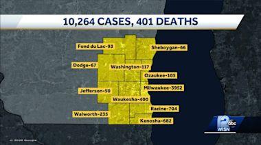 Coronavirus in Wisconsin: 401 deaths