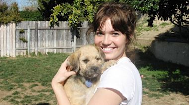 Mandy Moore pays tribute after dog Joni dies 'very unexpectedly'