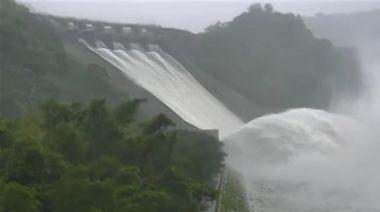 烟花颱風降雨挹注 石門水庫睽違647天再現滿水位
