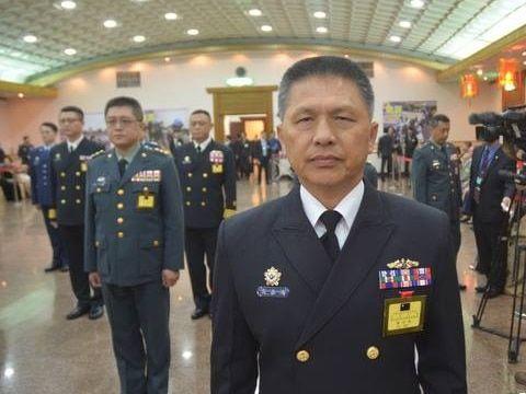 將領異動|艦指部指揮官高嘉濱提前報退 潛艦國造進程恐受影響 | 蘋果新聞網 | 蘋果日報
