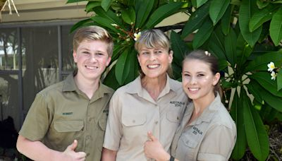 Bindi Irwin shared photos of her family releasing sea turtles into the ocean in honor of her mother Terri's birthday