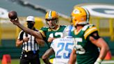 What does Aaron Rodgers see in Detroit Lions secondary? 'A couple long last names'