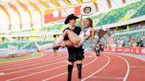 Olympic couple Tara Davis and Hunter Woodhall define a generation of social-savvy athletes