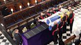 菲臘親王喪禮結束 靈柩安葬聖喬治教堂皇家墓室