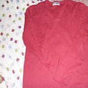 二件賣/全新 giordano 紅/黃色 長袖 Tee/親子裝/父母仔女均可/套裝/質料好靚