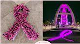 雅詩蘭黛集團2021粉紅絲帶乳癌防治宣導點燈記者會,團結你我,終結乳癌!   品牌新聞   妞新聞 niusnews