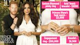 Meghan rocks $384k of jewellery on Time's most influential people cover