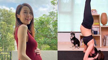 湯怡懷孕5個月做倒立惹網民洗版負評 話「生仔要考牌」 - fanpiece