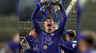 Chelsea fans celebrate Champions League win