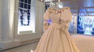 Princess Diana's wedding dress goes on display