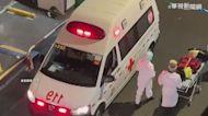 直擊萬華茶室街 大門深鎖.救護車穿梭