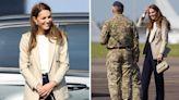 Kate beams as she meets Afghanistan evacuation teams after summer break