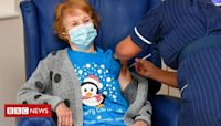 Margaret Keenan: T-shirt gives charity a boost