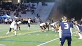 Lincoln's Jayden Wayne hauls in touchdown pass against Bellevue