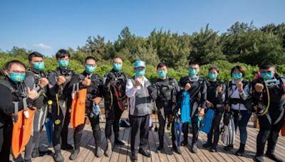 桃園首創成立5支「環保潛水隊」 淨海守護藻礁   台灣好新聞 TaiwanHot.net