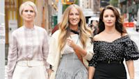 'Sex and The City' Revival 'And Just Like That' Drops First Look Of Carrie, Miranda & Charlotte In NYC