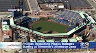 Philadelphia Phillies Fans Required To Wear Masks Inside Citizens Bank Park Beginning On Thursday