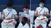 Tom Daley spotted knitting Team GB creation at Olympics for second day in a row