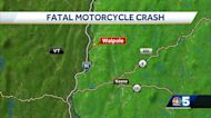 Crash involving motorcycle leaves woman dead in Walpole