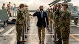 SECNAV Braithwaite bids farewell to sailors and Marines