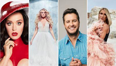 Celine Dion, Katy Perry, Carrie Underwood, Luke Bryan Plot Las Vegas Residencies