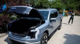 Ford quickly reaches 120,000 orders for its Tesla Cybertruck rival