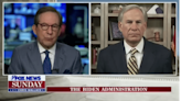 Chris Wallace Challenges Greg Abbott: You Were Silent on Trump's Migrant Abuses