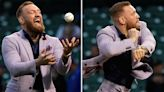McGregor defends pitch claiming it was 'powerful and fastest' attempt by celeb