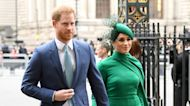 Queen Elizabeth Keeps the Sweetest Meghan Markle and Prince Harry Photo With Her Family Snapshots