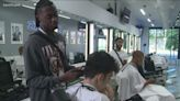 Nation's top high school basketball recruit hosts clothing drive with barber before move to Gonzaga University