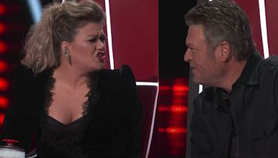 "Kelly Clarkson Slams Blake Shelton After He Claimed She Didn't ""Have Time"" for 'The Voice'"
