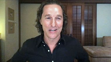 Matthew McConaughey talks lifelong dream of being a father and the first moment he saw his wife