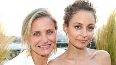Cameron Diaz had a sweet reaction to fans discovering she's Nicole Richie's sister-in-law