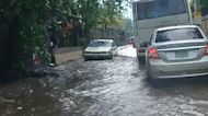 Flooding downpours in Nicaragua from Cristobal