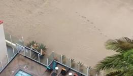 Rain Soaks Parts of Los Angeles County as Storm Hits California