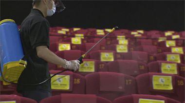 微解封第二個週末 電影院人潮大減出現一人包場