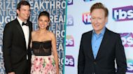 Mila Kunis Shares Conan O'Brien's 'Grinch' Reaction To Her & Ashton Kutcher's Fireworks Display!