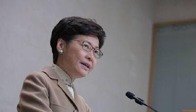 林鄭月娥:前海方案為本港專業或創業人士提供更多空間