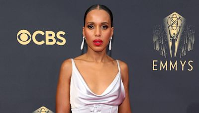Kerry Washington's 2021 Emmys Look Is So Sexy, It Should Be Considered a Scandal