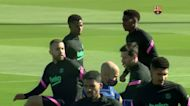 Barca gear up before Champions clash against Juve
