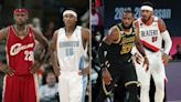 LeBron James and Carmelo Anthony through the years: From the historic 2003 NBA Draft to Lakers teammates